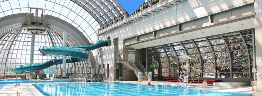 犢橋 温水 プール